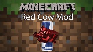 Minecraft Mod รีวิว - Mod เครื่องดื่มวัวแดง | Red Cow Mod [1.7.10]