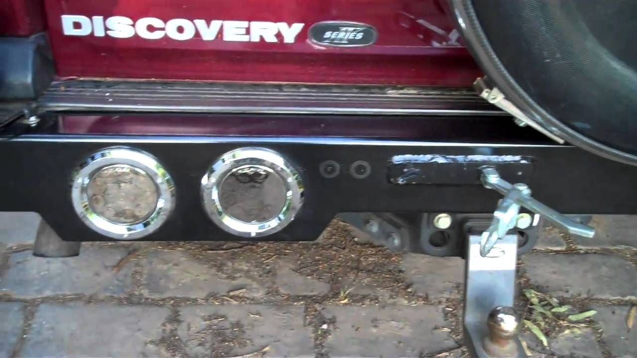 Landrover Discovery 2 Rear Bumper Bar Completed Part Youtube Land Rover Light Diagram