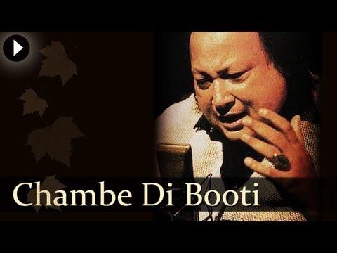 Chambe Di Booti  Nusrat Fateh Ali Khan  Superhit Qawwalis