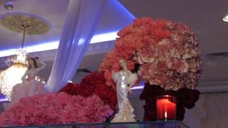 Bat Mitzvah & Bar Mitzvah @ Da Miklle Palace Decor By Vip Flowers Queens NY 718-8977100