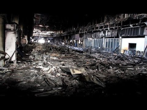Tripoli International Airport ravaged by fighting