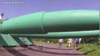Экскурсия по Ворошиловской батарее. Владивосток, о. Русский