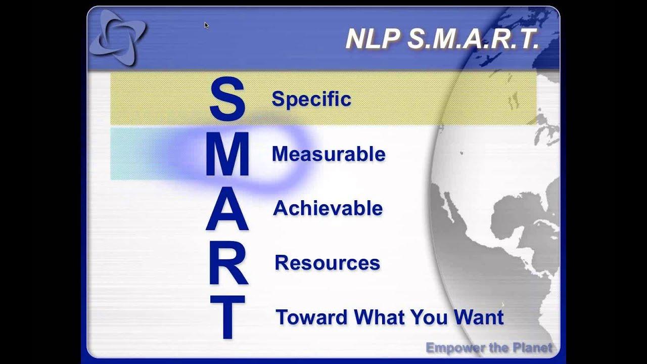 SMART Goals with Dr. Matt James - NLP, Energy and Goal ...