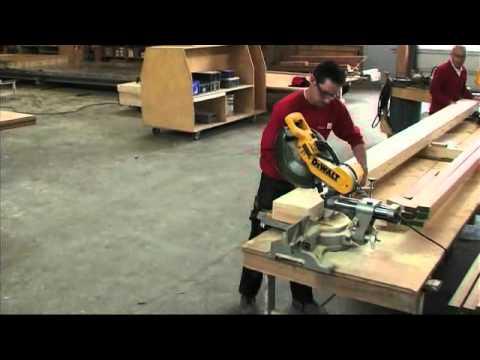 DeWalt New DWS780 Mitre Saw.wmv
