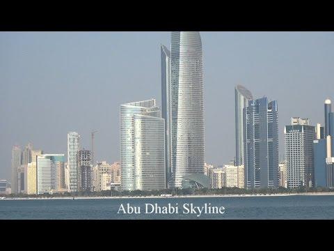 Abu Dhabi Skyline VAE Vereinigte Arabische Emirate UAE أبو ظبي