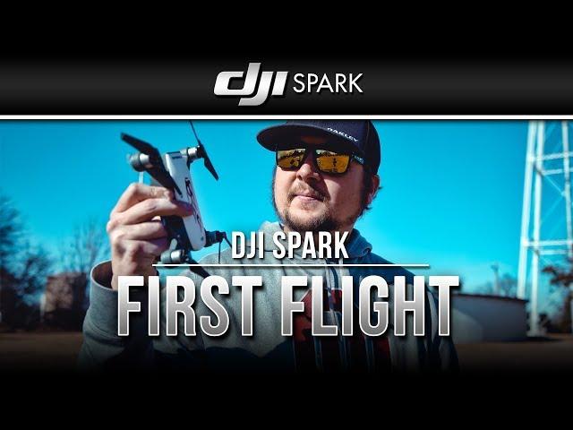 DJI Spark / First Flight