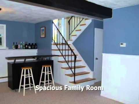 Wonderful spacious split level home youtube for Bi level basement ideas