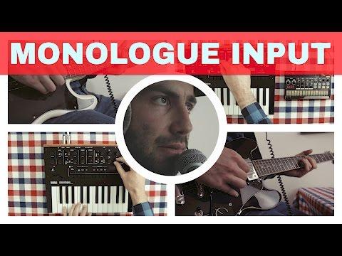KORG MONOLOGUE AUDIO IN ~ Processing Guitar, Bass, Vocals, Volca Beats