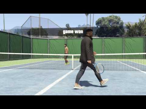 Tennis Fetish GTA 5!