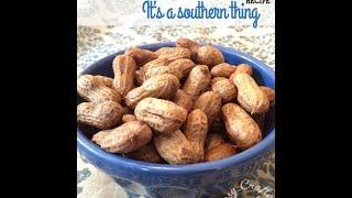 Вареный арахис - экзотика юга США.
