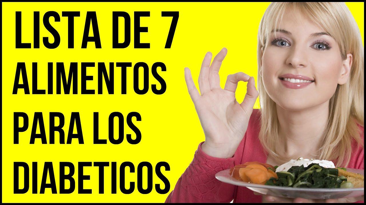 Lista de 7 alimentos Claves para los Diabeticos - MUY IMPORTANTES!
