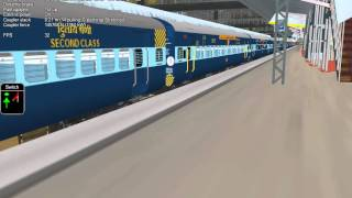MSTS INDIAN RAIL SIMULATOR GAMEPLAY HD(720p).