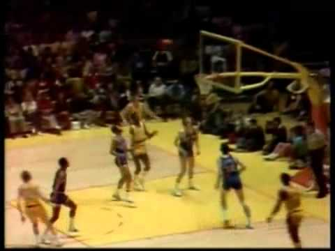 Phil Jackson blocks Pat Riley