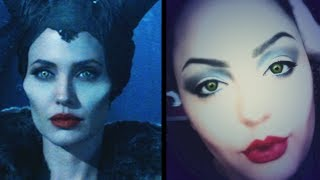 Maleficent Inspired Makeup Thumbnail