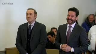 Kevin Spacey Arraignment 01/07/19