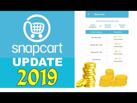 Snapcart 2019 Update - Snap receipt, Get CASHBACK - Review - 동영상