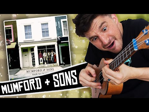I play a Mumford & Sons album on the ukulele