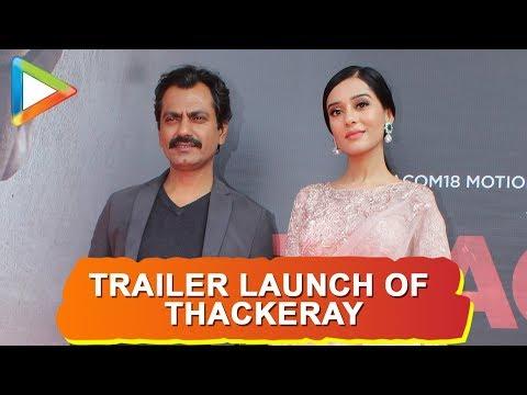 Nawazuddin Siddiqui, Amrita Rao and others grace the trailer launch of 'Thackeray'   Part 2