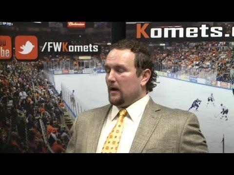 Komets Gary Graham full interview on 3/26/17
