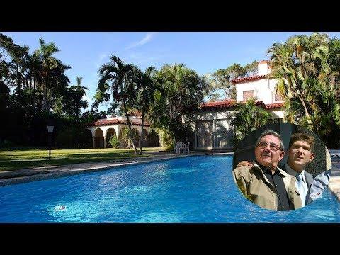 """¡LUJOS DE LOS CASTROS! Miren la nueva mansión en Cuba de """"El Cangrejo"""", el nieto Raúl Castro"""