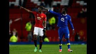 Paul Pogba and Romelu Lukaku. Best of friends