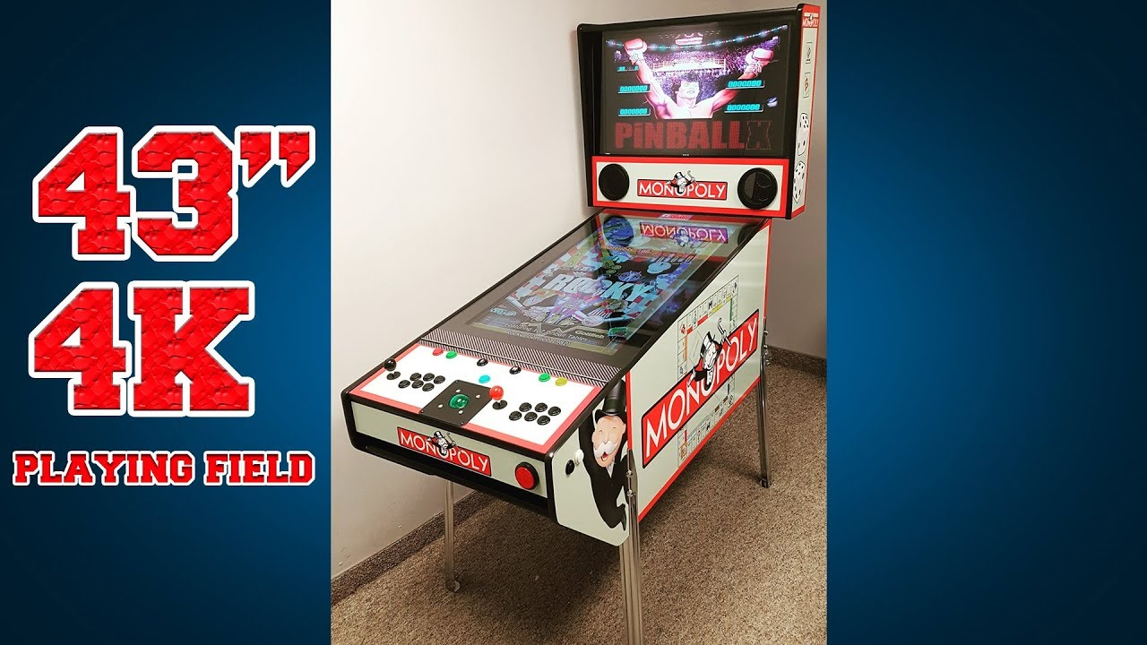 Redesigned Virtual Pinball PLUS Machine with Hyperspin and PinballX