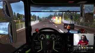 euro truck ( la promod 2.41)  moment détente