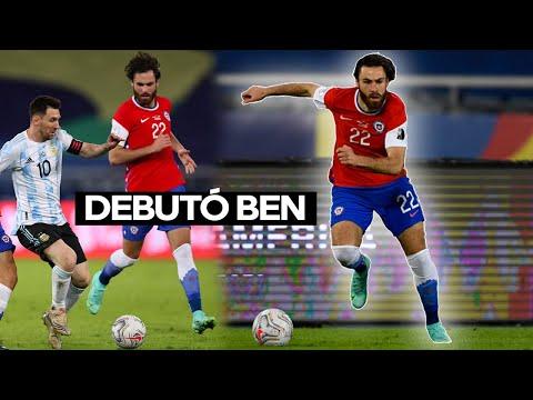 El Debut de Ben Brereton por Chile vs Argentina 14.06.2021