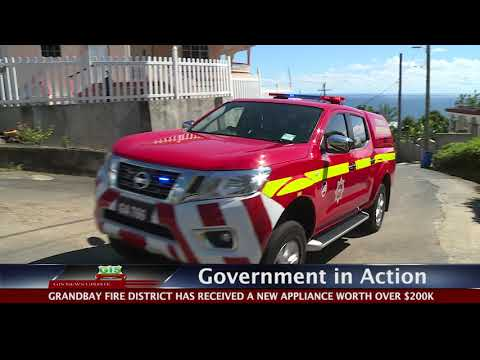 GOVERNMENT IN ACTION - New Grandbay Fire Appliance