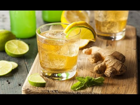 acqua per perdere peso zenzero limone