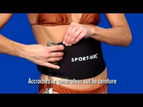 Electrostimulation Sport-Elec BCS Abdos - Tool Fitness - YouTube d6e610ece32