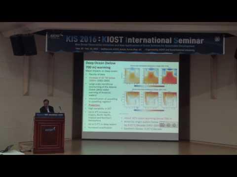 """[KIS 2016] Mark Baskaran """"Key Biogeochemical Studies in an Era of Climatic..."""""""