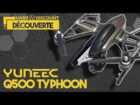 YUNEEC Q500 TYPHOON SPECIAL GOPRO - Réalisez vos films vous même!