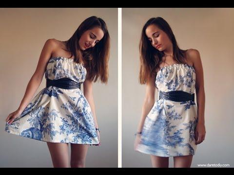 Como hacer un vestido para uso diario