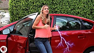 How To Not Get Shocked Exiting A Car