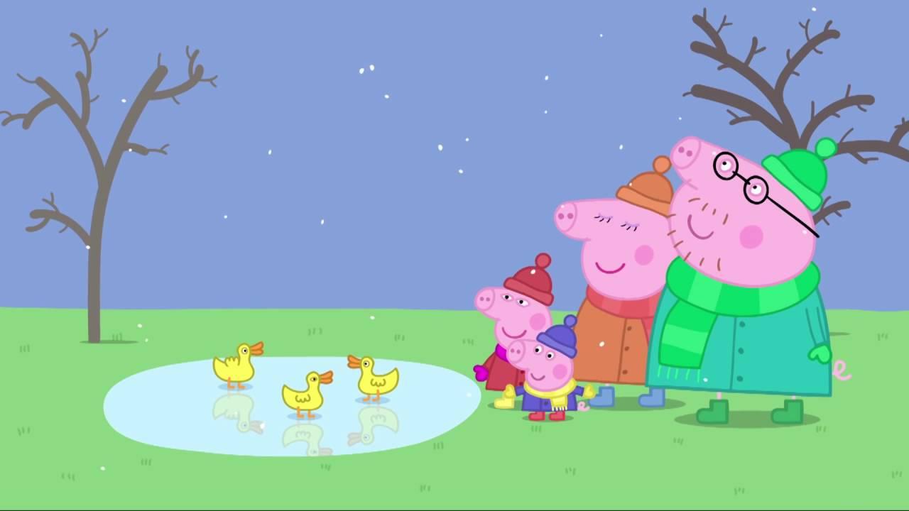 Peppa Pig - Cold Winter Day (52 episode / 2 season) [HD]