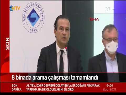 Boğaziçi Üniversitesi Kandilli Rasathanesi deprem açıklaması