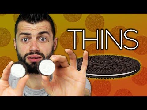 Irish People Try American Oreo Thins
