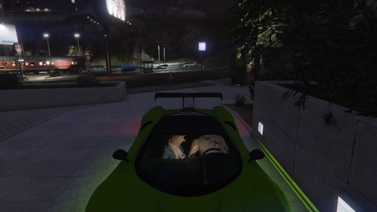 Видео гта 5 секс в машине