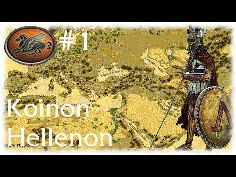 M2TW: Europa Barbarorum II Mod ~ Koinon Hellenon Campaign Part 1, Sons Of Sparta