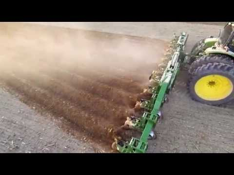 Great Plains Lister Cultivator In Mississippi Delta
