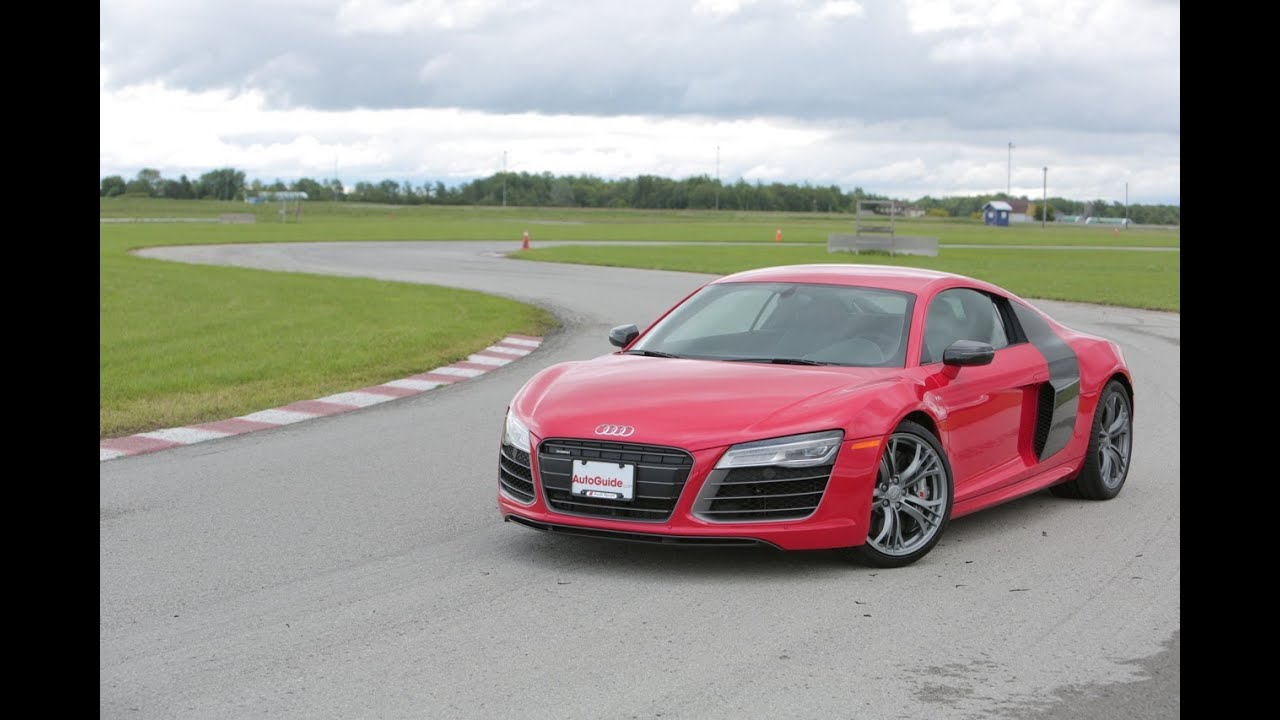 2014 audi r8 v10 plus review - youtube