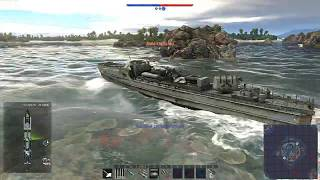 German Navy Realistic Action ( War Thunder Navy Ships)
