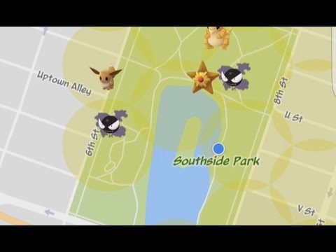 Gastly Nest Hunting At Southside Park in Sacramento, California