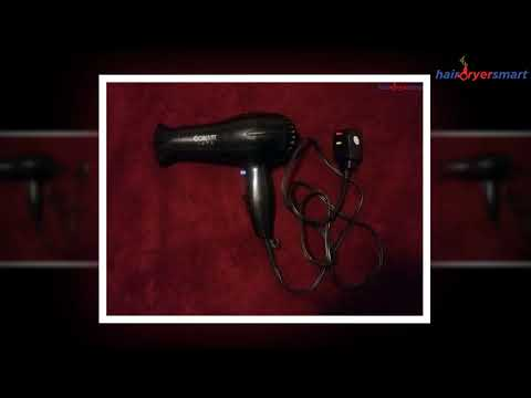 Conair 1875 Watt Full Size Pro Hair Dryer with Ionic Conditioning Review