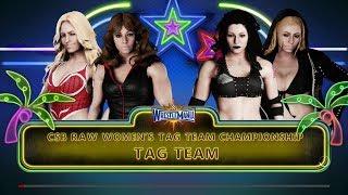 CSB WrestleMania 4 (Sunday Night) - Lauren Ace & Charlotte Fierce vs. The Bad Ace's (c)