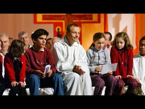 IEC 2012: Br. Alois Löser, Dr. Maria Voce, Liturgy of Word and Water -  June 11, 2012