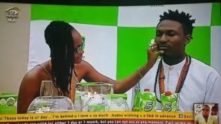 Big Brother naija - Bassey shines in MC role during wedding task D45