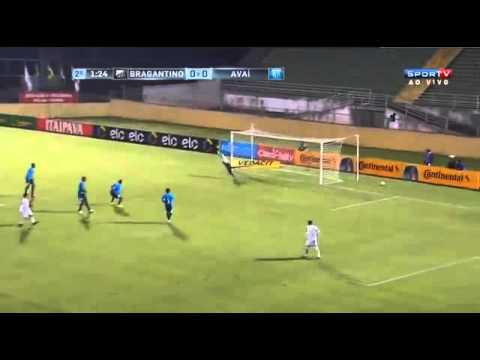 Gols:Bragantino 1x0 Avai 03/05/16