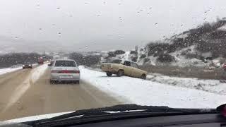 Двойная авария возле Карабудахкента